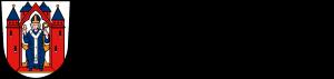 Stadtwappen mit Schriftzug Stadt Aschaffenburg